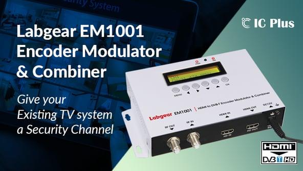 Labgear EM 1001 Encoder Modulator & Combiner