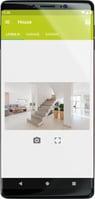 Satel App with Cameras