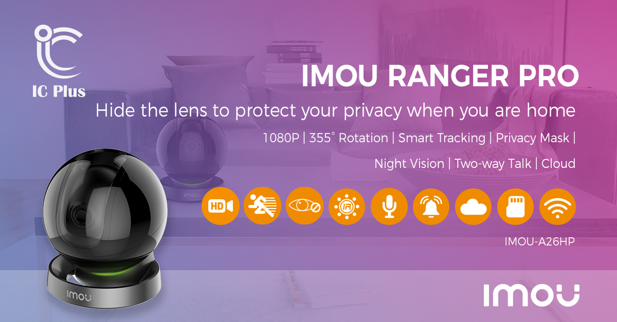 Imou Ranger Pro 1080P Feature Graphic