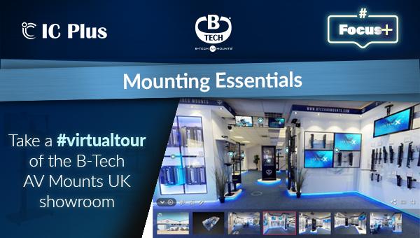 #Focus+ Mounting Essentials from B-Tech AV Mounts